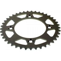 Rear sprocket aluminium 41 tooth pitch 415 silver