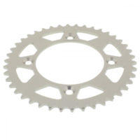 Rear sprocket aluminium 42 tooth pitch 415 silver 511201342