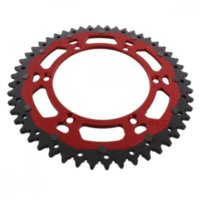 sprocket Dual 50Z Pitch 520 red ZFD82250RED