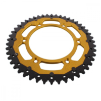 sprocket Dual 48Z Pitch 520 gold ZFD21048GLD