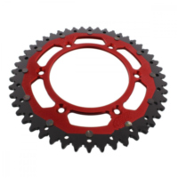 sprocket Dual 48Z Pitch 520 red ZFD21048RED