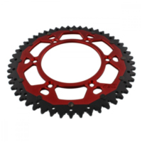 sprocket Dual 51Z Pitch 520 red ZFD21051RED