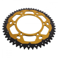 sprocket Dual 51Z Pitch 520 gold ZFD80851GLD