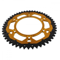 sprocket Dual 50Z Pitch 520 gold ZFD89750GLD