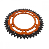sprocket Dual 45Z Pitch 520 orange ZFD89745ORG