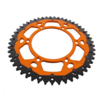 sprocket Dual 51Z Pitch 520 orange