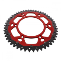 sprocket Dual 51Z Pitch 520 red ZFD800051RED