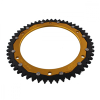 sprocket Dual 53Z Pitch 428 gold