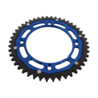 sprocket Dual 46Z Pitch 428 blue