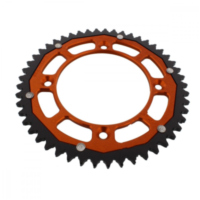 sprocket Dual 49Z Pitch 428 orange