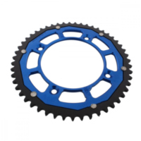 sprocket Dual 51Z Pitch 428 blue