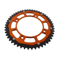 sprocket Dual 51Z Pitch 428 orange