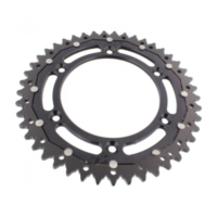 sprocket Dual 45Z Pitch 520 black ZFD89745BLK