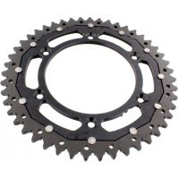sprocket Dual 47Z Pitch 520 black ZFD800047BLK