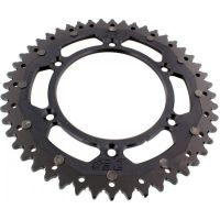 sprocket Dual 48Z Pitch 520 black ZFD800048BLK