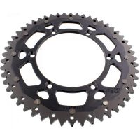 sprocket Dual 52Z Pitch 520 black ZFD46052BLK