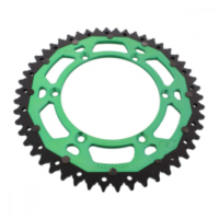 Rear sprocket dual 50 tooth pitch 520 green