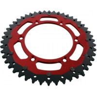 sprocket Dual 48Z Pitch 520 red ZFD80848RED