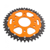 sprocket Dual 42Z Pitch 520 orange ZFD89042ORG