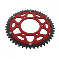 sprocket Dual 48Z Pitch 428 red