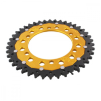 REAR SPROCKET DUA 42 TOOTH PITCH 520 GOLD ZFD48642GLD