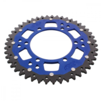 REAR SPROCKET DUAL 47 TOOTH PITCH 520 BLUE