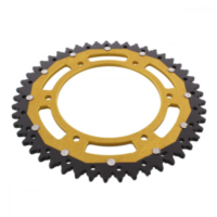REAR SPROCKET DUAL 49 TOOTH PITCH 520 GOLD ZFD549GLD