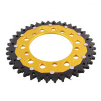 REAR SPROCKET DUA 40 TOOTH PITCH 520 GOLD ZFD70340GLD