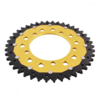 REAR SPROCKET DUA 42 TOOTH PITCH 520 GOLD ZFD70342GLD