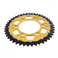 REAR SPROCKET DUA 45 TOOTH PITCH 520 GOLD ZFD73545GLD