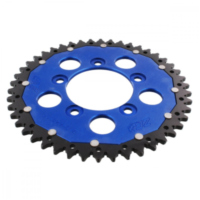REAR SPROCKET DUA 46 TOOTH PITCH 520 BLUE ZFD82346BLU