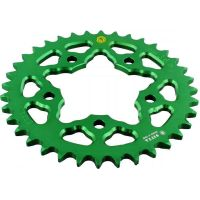 REAR SPROCKET ALU 36 TOOTH PITCH 525 GREEN für Benelli TNT  1130 TN0003 2011-2012