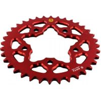 REAR SPROCKET ALU 36 TOOTH PITCH 525 RED