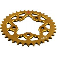 REAR SPROCKET ALU 36 TOOTH PITCH 525 GOLD