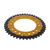 REAR SPROCKET DUAL 43 TOOTH PITCH 525 GOLD ZFD179243GLD