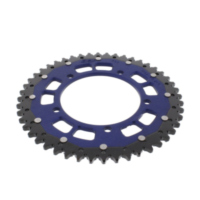 REAR SPROCKET DUAL 48 TOOTH PITCH 525 BLUE