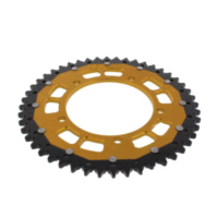 REAR SPROCKET DUAL 47 TOOTH PITCH 525 GOLD ZFD179248GLD