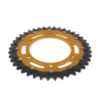 REAR SPROCKET DUAL 41 TOOTH PITCH 525 GOLD ZFD201441GLD
