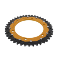 REAR SPROCKET DUAL 42 TOOTH PITCH 525 GOLD ZFD30042GLD
