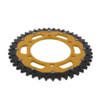 REAR SPROCKET DUAL 44 TOOTH PITCH 525 GOLD ZFD187644GLD