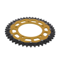 REAR SPROCKET DUAL 44 TOOTH PITCH 525 GOLD ZFD744GLD für BMW S ABS 1000 K10/K46 2014