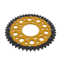 REAR SPROCKET DUAL 45 TOOTH PITCH 530 GOLD ZFD133445GLD