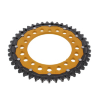 REAR SPROCKET DUAL 43 TOOTH PITCH 530 GOLD ZFD180043GLD