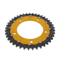 REAR SPROCKET DUAL 41 TOOTH PITCH 530 GOLD ZFD30241GLD