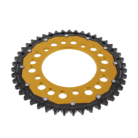 REAR SPROCKET DUAL 45 TOOTH PITCH 530 GOLD ZFD30245GLD