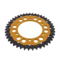REAR SPROCKET DUAL 43 TOOTH PITCH 530 GOLD ZFD47943GLD