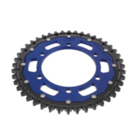 REAR SPROCKET DUAL 44 TOOTH PITCH 530 BLUE ZFD47944BLU