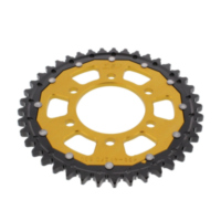 REAR SPROCKET DUAL 41 TOOTH PITCH 530 GOLD ZFD48841GLD