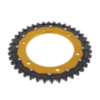 REAR SPROCKET DUAL 40 TOOTH PITCH 530 GOLD ZFD49940GLD