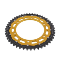 REAR SPROCKET DUAL 48 TOOTH PITCH 530 GOLD ZFD50248GLD